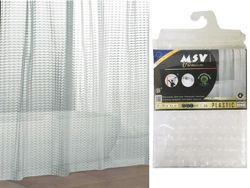 Perdea pentru dus 180X200cm Premium 3D, transparenta