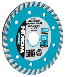 Disc solid cu diamant Turbo 230 * 22,2 MM Wokin
