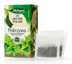 Ceai de plante Polish Herbarium Nettle, 20 plicuri