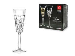 Набор бокалов для шампанского Etna 6шт, 190ml