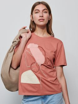 Tricou RESERVED Coral