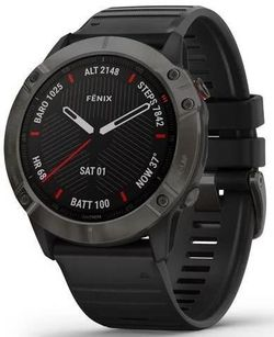 купить Смарт часы Garmin fenix 6X Sapphire, Carbon Gray DLC w/Black Band в Кишинёве