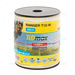 Bandă gard electric – 12 mm – 200 m – 60 kg – 0,33 Ω/m
