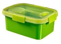 cumpără Container alimentare Curver 232570 To Go Lunch Kit cu tacamuri 1,2l verde în Chișinău