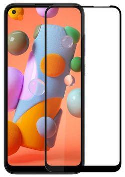 cumpără Peliculă de protecție pentru smartphone Screen Geeks Full Cover Glass Pro Galaxy A11, negru în Chișinău