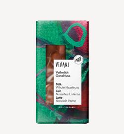 Молочный шоколад с лесными орехами bio Vivani 100г