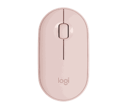 Wireless Mouse Logitech Pebble M350, Rose