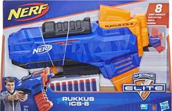 Бластер Nerf со стрелами Elite Rukkus ICS 8, код 43000