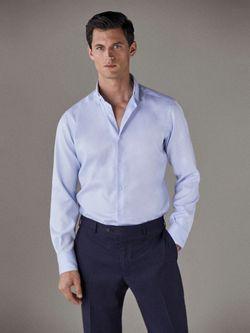 Рубашка Massimo Dutti Голубой 0152/352/403