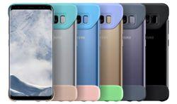 cumpără Husă pentru smartphone Samsung EF-MG955, Galaxy S8+, 2Piece Cover, Light Blue în Chișinău