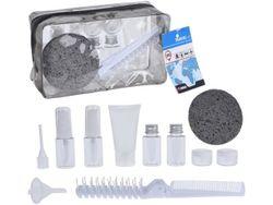 Husa cosmetica cu accessorii pentru bagajele de mana 11buc