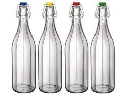 Бутылка с зажимной крышкой Giara Oxford 1l, цветной
