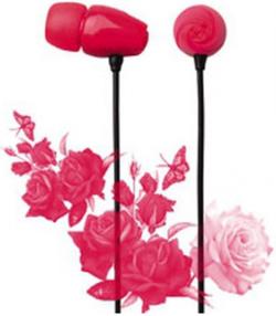 Наушники Elecom Rose Red (E11017)