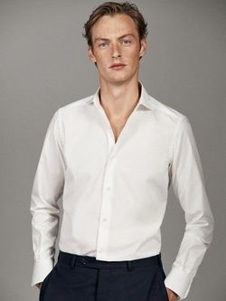Рубашка Massimo Dutti Белый 0154/170/250