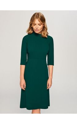 Платье RESERVED Зеленый vj332-77x