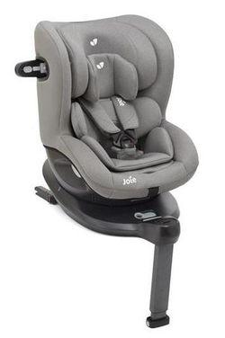Поворотное автокресло с системой Isofix Joie i-Spin 360° Gray Flannel (0-18 кг)