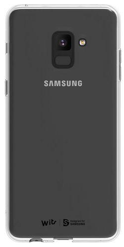 купить Чехол для смартфона Samsung GP-A730, Galaxy A8+ 2018, Soft Cover, Clear в Кишинёве