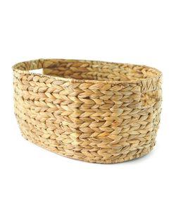 Oval wicker basket 41 cm