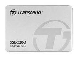2,5-дюймовый твердотельный накопитель SATA 1,0 ТБ Transcend «SSD220Q» [Ч / З: 550/500 МБ / с, 57/79 КБ операций ввода-вывода в секунду, SM2259XT, 3D-NAND QLC]