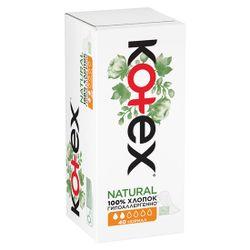 Ежедневные прокладки Kotex Natural Normal, 40 шт.