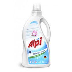 Жидкий стиральный порошок ALPI gel white 1.5л