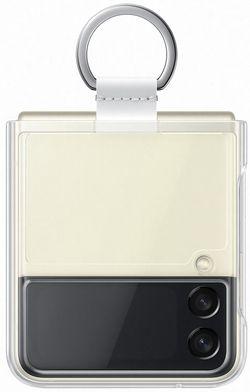 cumpără Husă pentru smartphone Samsung EF-QF711 Clear Cover with Ring B2 Transparency în Chișinău