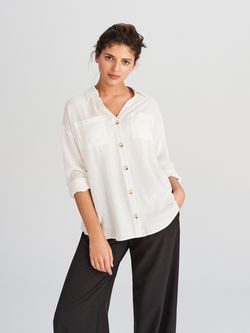 Блуза RESERVED Белый vz079-01x