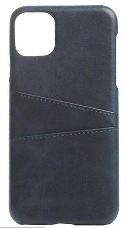 купить Чехол для смартфона Helmet iPhone 11 Blue Leather With Pocket в Кишинёве