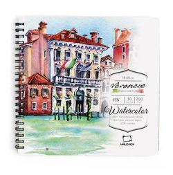 Sketchbook Malevich pentru acuarelă