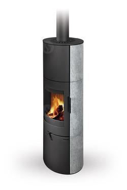 Каминная печь аккумуляционная ROMOTOP LUGO N 02 AKUM (камень)