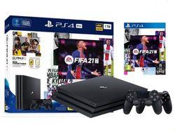 SONY PlayStation 4 PRO 1TB, Black + Fifa 21