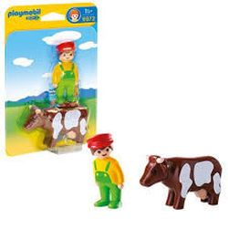 Farmer with Cow, PM6972