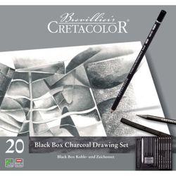 Set pentru grafică Black box, 20 articole ,  Cretacolor