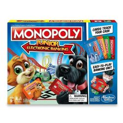 Board Game Monopoly JUNIOR BANKING ELECTRONIC (E1842) RO