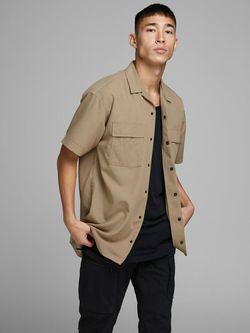 Рубашка JACK&JONES Коричневый 12167176