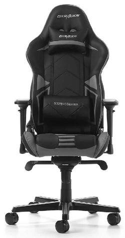 купить Gaming кресло DXRacer Racing GC-R131-NG-V2, Black/Grey в Кишинёве
