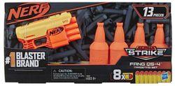 Nerf Blaster cu ținte Alpha Strike Fang QS 4, cod 43004