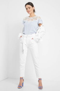 Pantaloni ORSAY Alb 314057 orsay