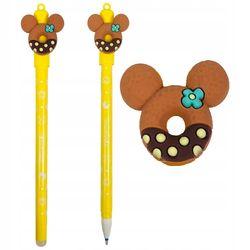 Ручка Colorino стираемая синяя 0,5 мм Пончик