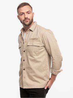 Рубашка TOM TAILOR Беж 1020171 11036