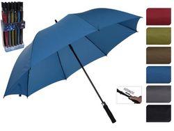 Зонт-трость автомат D150cm одноцветный, 6цветов