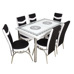 Комплект Келебек ɪɪ 1237 + 6 стульев