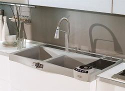 купить Мойка кухонная Elleci Elettrolav Max 900 White 96 в Кишинёве