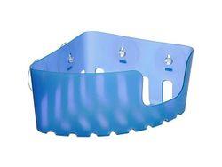 Корзинка угловая Tatay 20X20X11cm, пластик, голубая