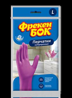 Перчатки универсальные суперпрочные Фрекен Бок, L