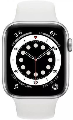 cumpără Ceas inteligent Apple Apple Watch Series 6 40mm Silver/White Sport Band (MG283) în Chișinău