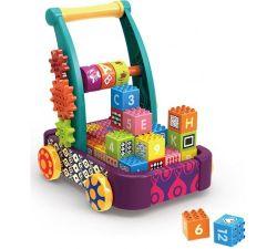 Carucior cu cuburi Chipolino Blocks