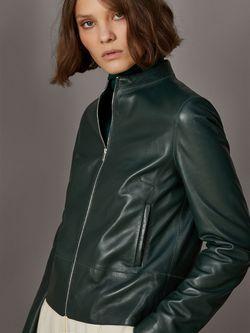 Куртка Massimo Dutti Темно зеленый massimo dutti 4742725