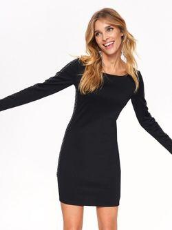 Платье TOP SECRET Черный с принтом SSU2503CA