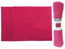 Коврик для ванной комнаты 60X90cm Chenille розовый, микрофи